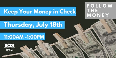 Keep Your Money in Check tickets