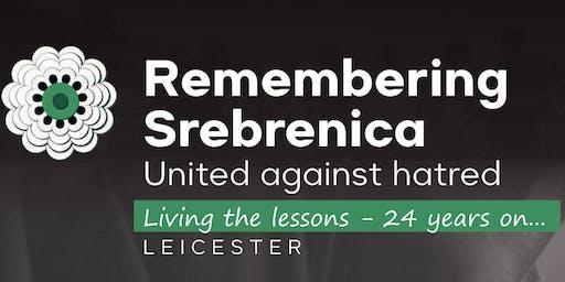 Remembering Srebrenica - Coffee morning
