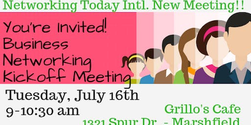 New Business Networking Meeting in Marshfield