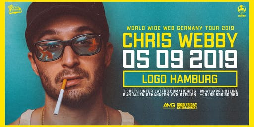 Chris Webby Live in Hamburg - 05.09.19 - Logo