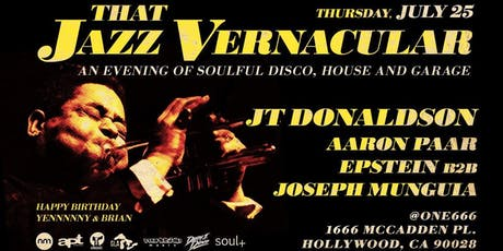 That Jazz Vernacular w/JT Donaldson, Aaron Paar, Epstein & Joseph Munguia tickets