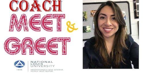 Coach Meet & Greet at National Louis University- Wheeling Campus
