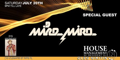 """""""House Management"""" - Weekly Dance Party at """"215SpeakEasy""""! tickets"""