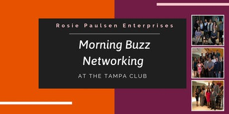 Tampa Club Morning Buzz Networking - August 2019 tickets