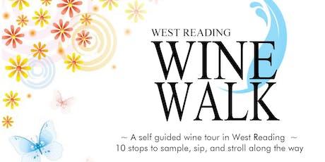 West Reading Wine Walk tickets