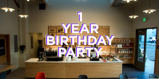 CoRo Coffee Room 1 Year Birthday Party