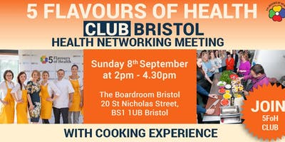 5 Flavours of Heath Club Bristol Meeting with Cooking