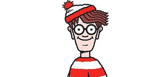 Where's Wally Treasure Hunt in Rathfarnham Castle Park