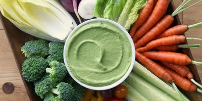 Avocado Green Goddess Dip and Salmon Salad Recipes with Tasting