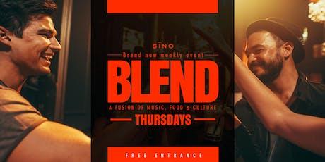 Sino at Santana Row - Blend Thursdays tickets