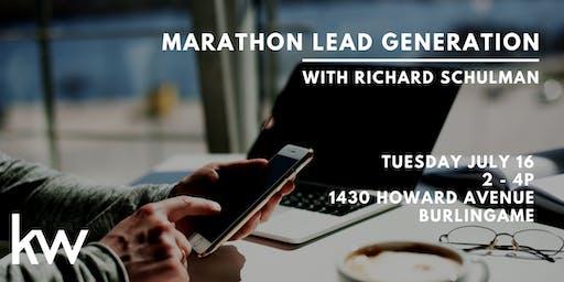 Marathon Lead Generation with Richard Schulman