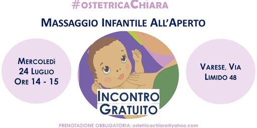 Incontro Gratuito: Massaggio Infantile 0 - 12 Mesi