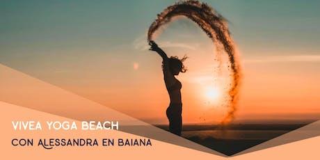 vivea yoga Beach en Baiana Viladecans entradas