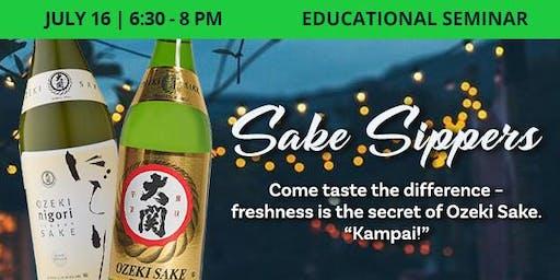 Educational Seminar: Sake Sippers