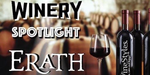 Erath Winery Spotlight Tasting Event