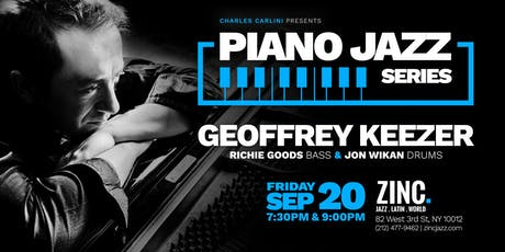 Piano Jazz Series: Geoffrey Keezer tickets