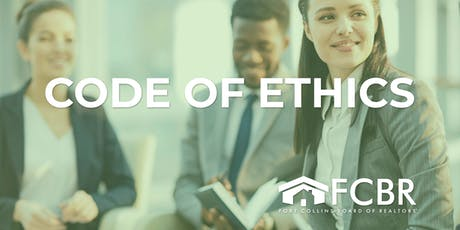 Code of Ethics - October 2 tickets