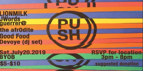 The PUSH Vol 14 tickets