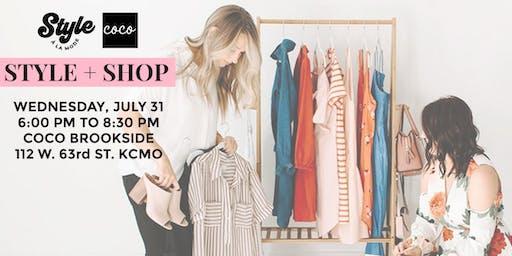 Style + Shop with Style À La Mode