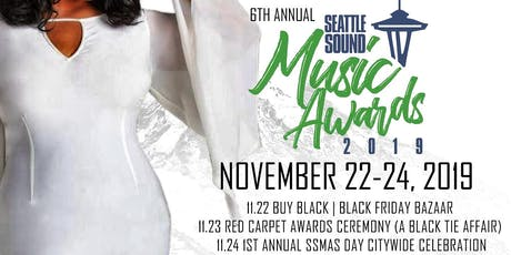 The 6Th Annual Seattle Sound Music Awards tickets