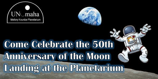 Celebrate the 50th Anniversary of the Moon Landing at the Planetarium