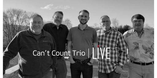 Market Street Social LIVE - Can't Count Trio