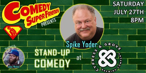 LIVE STAND-UP COMEDY @ Cypress & Grove Brewing Co.