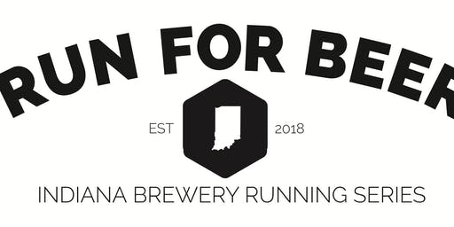 Beer Run - Cannon Ball Brewing Co - Part of the 2019 Indy Brewery Running Series