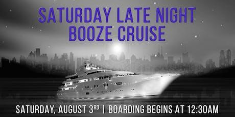 Saturday Late Night Booze Cruise On Spirit of Chicago tickets