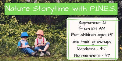 Nature Storytime with P.I.N.E.S.