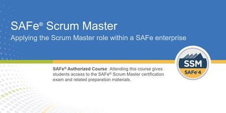 SAFe® Scrum Master Certification Training in Calgary, Canada tickets