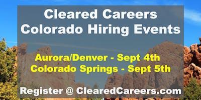 Cleared Careers Hiring Event - Denver/Aurora