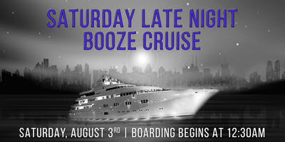 YachtPartyChicago's Saturday Late Night Booze Cruise On Spirit of Chicago