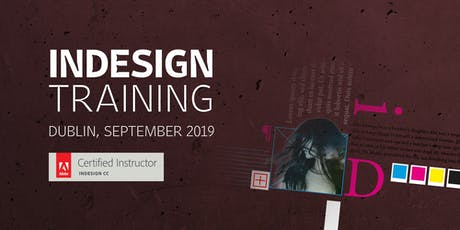 Adobe InDesign: create publications, leaflets, reports (two-day course) tickets