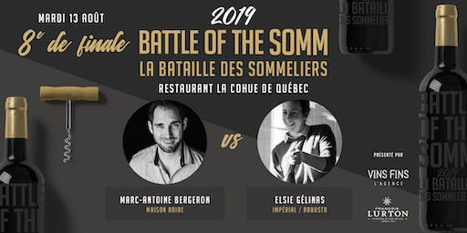 8e de finale - Restaurant la Cohue - Battle of the Somm 2019