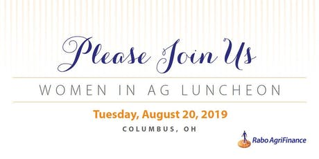 Women in Ag Luncheon, OH tickets