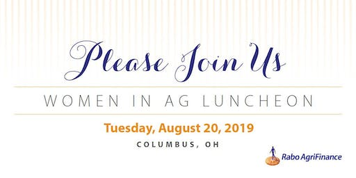 Women in Ag Luncheon, OH