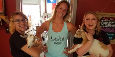 Goat Yoga Texas - Brunch'n Goats! - Sun., July 21 @ 11AM