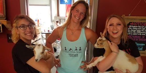 Goat Yoga Texas - Brunch'n Goats! - Sun., July 21 @ 11AM