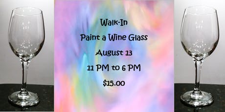 Walk-In: Paint a Wine Glass tickets