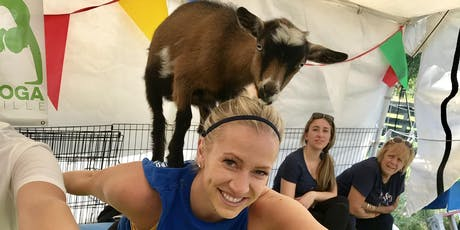 Goat Yoga Nashville- Amazing August  tickets