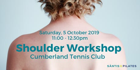 Take the weight off your shoulders - Shoulder Workshop tickets