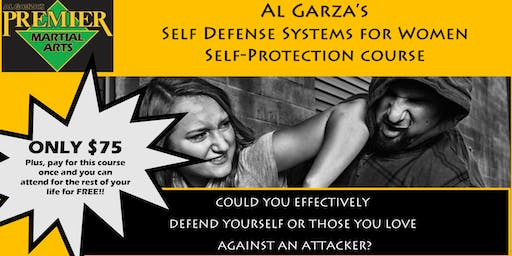 Al Garza's Self-Defense Systems for Women Self-Protection Course