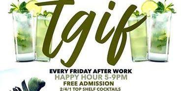 TGIF FRIDAYS @ Katra Lounge