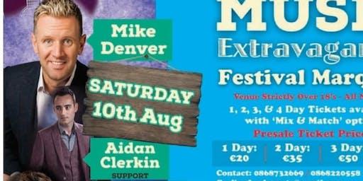 Carlingford Oyster Festival Dance MIke Denver & Support Aidan Clerkin