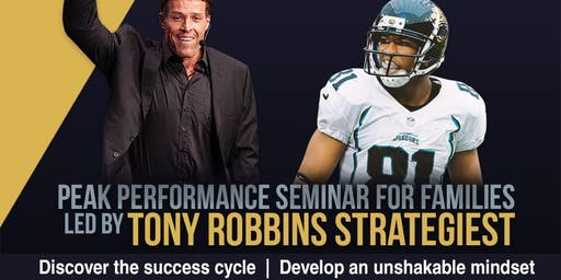 Peak Performance For Families with Tony Robbins Institute