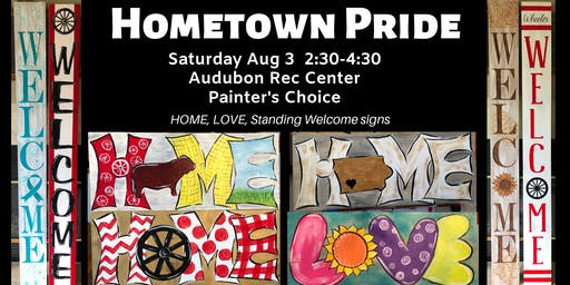 Hometown Pride Painting Party
