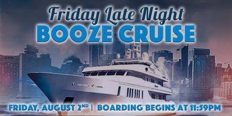 Friday Late Night Booze Cruise On Spirit of Chicago tickets