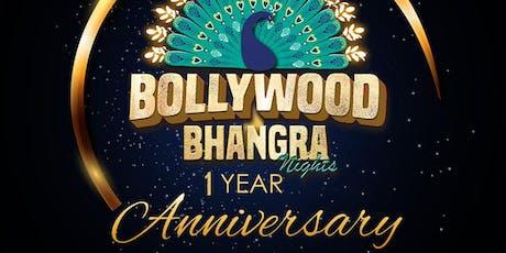 Bollywood Bhangra Nights - One Year Anniversary! tickets