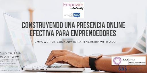 Construyendo una Presencia Online Efectiva para Emprendedores